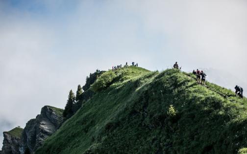 Pierra Menta course de trail dans le Beaufortain