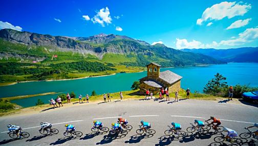 Passage du Tour de France au Cormet de Roselend, Beaufortain