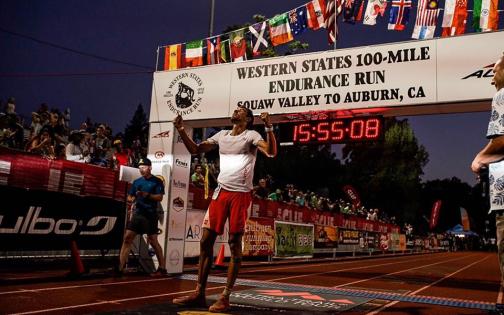 Victoire de François d'Haene sur l'Ultra Trail Western States 100 miles