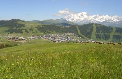 La haute route des Alpes aux Saisies