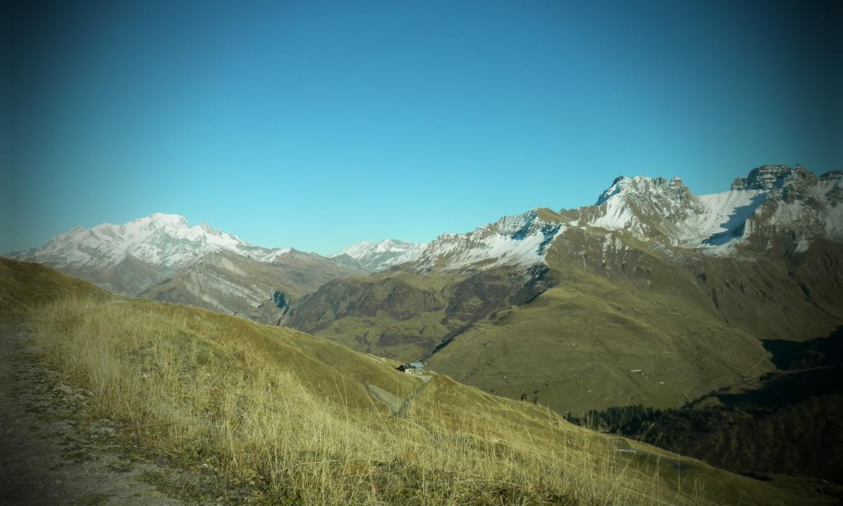 Roselend et Mont Blanc