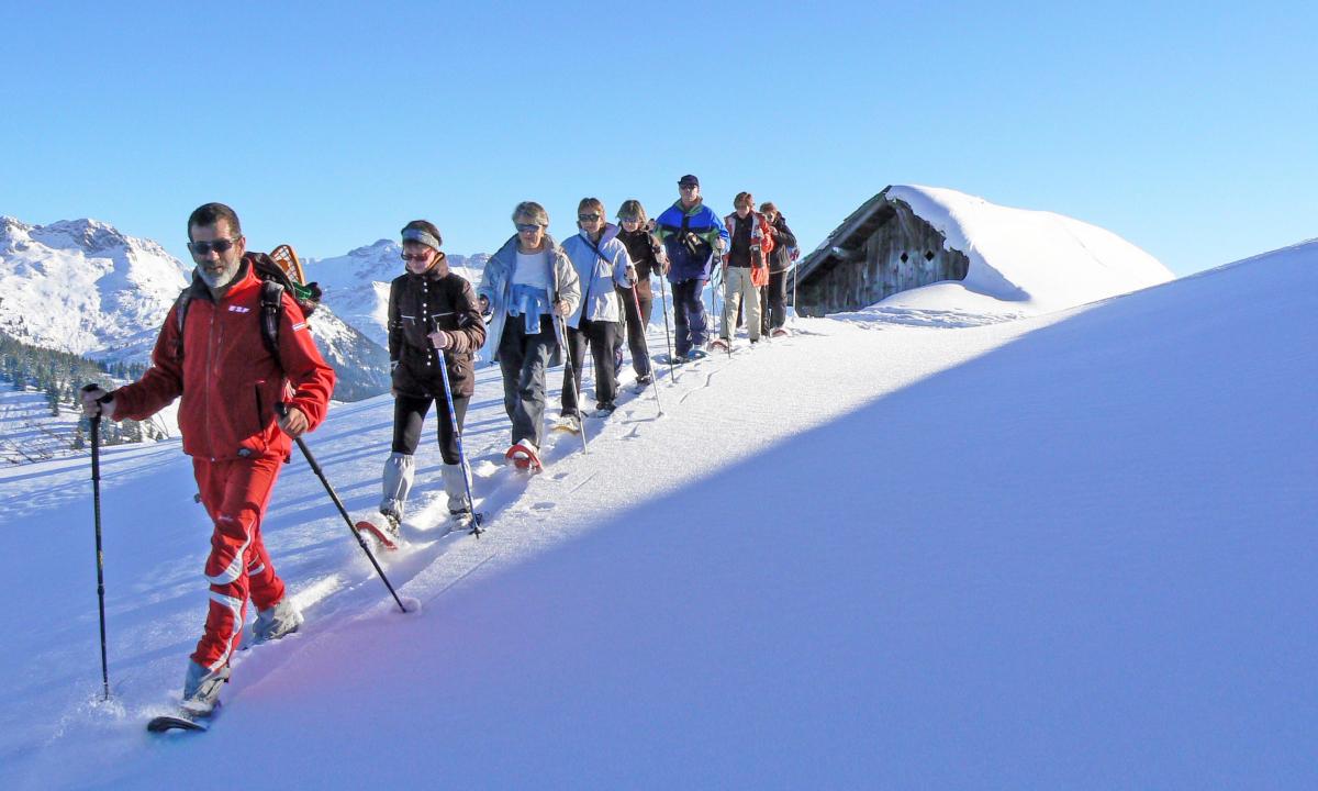 Les chalets d'alpage de Plan Chardon avec l'ESF