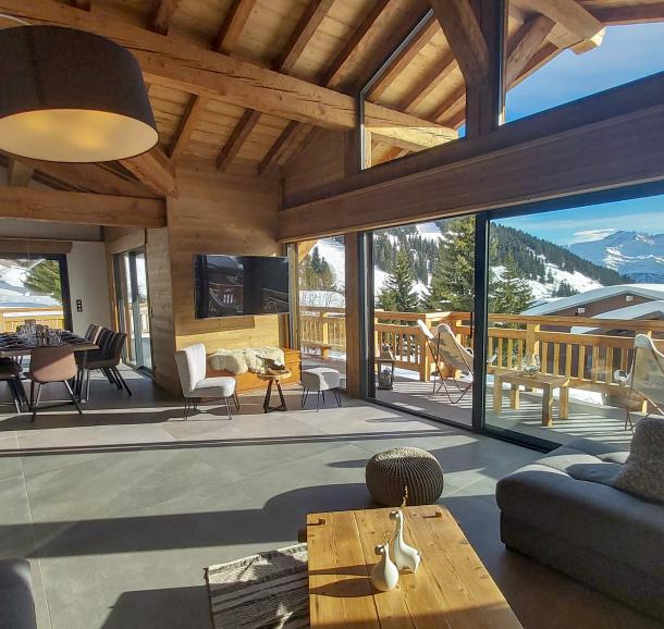Salon avec vue panoramique