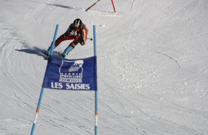 Course FIS aux Saisies (piste des Girolles)