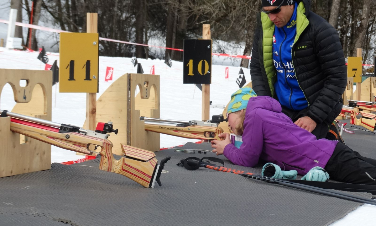 Initiation gratuite au biathlon