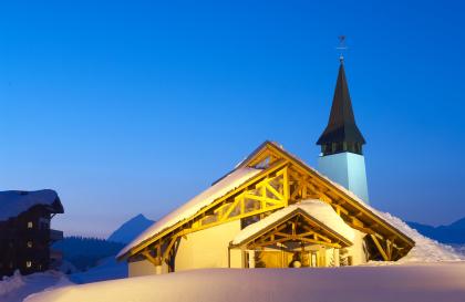 Chapelle Notre Dame de Haute Lumière aux Saisies