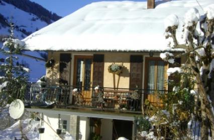 chalet hiver fj01