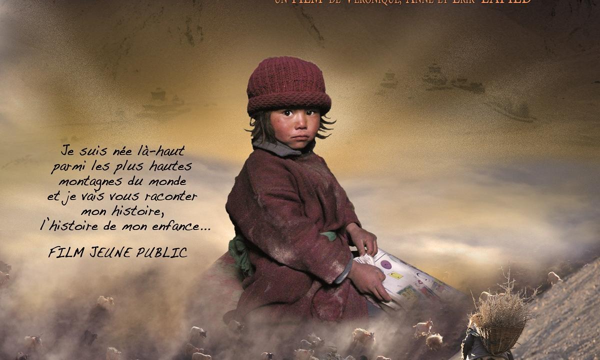 cinéma de montagne - Lhamo l'enfant de l'Himalaya