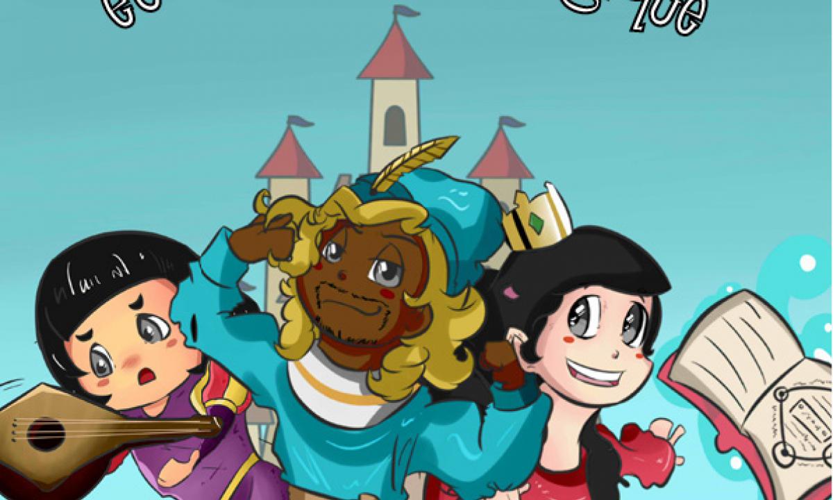 le prince givré et le grimoire magique