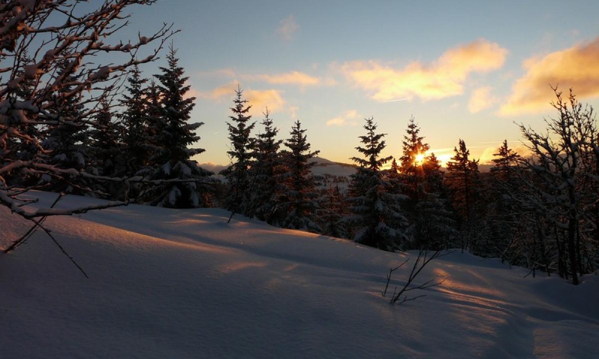 Alpages enneigés du Mont-Bisanne