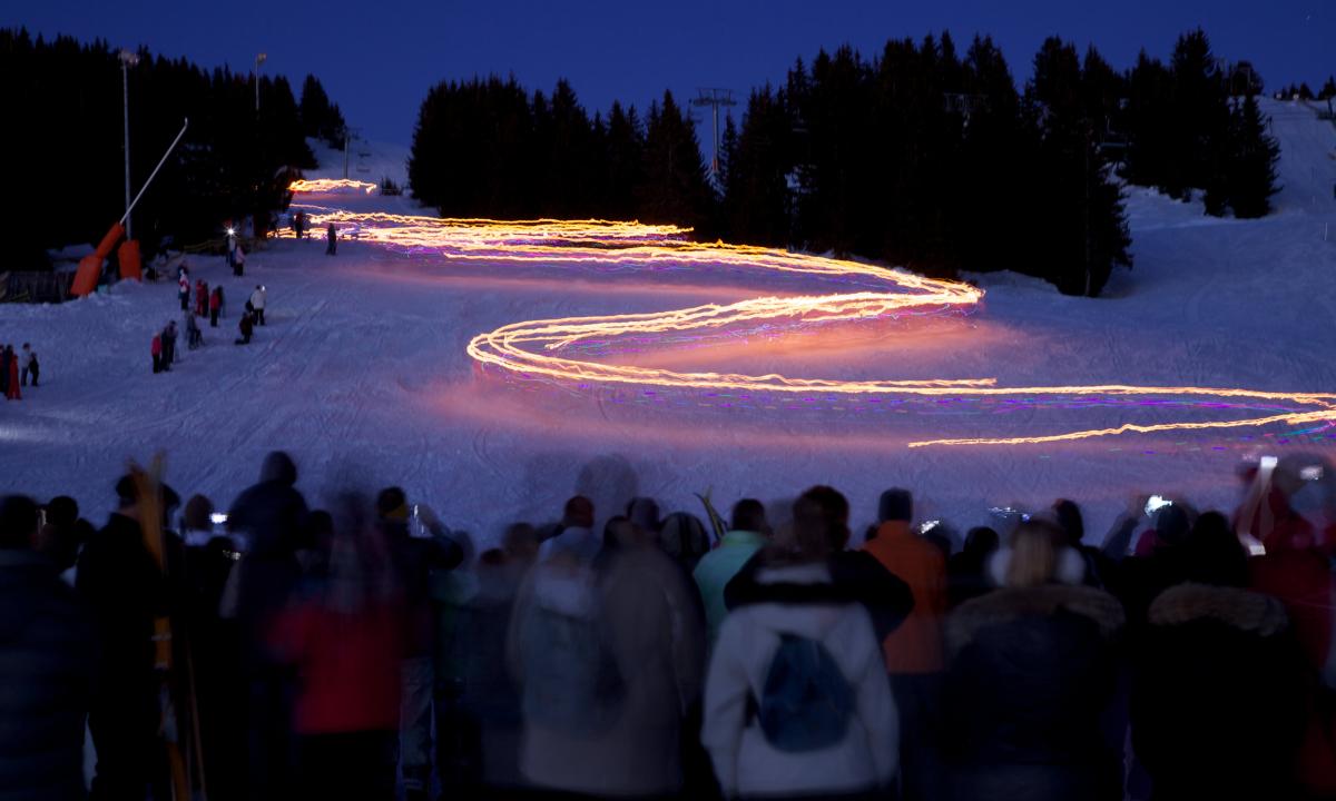 le ski show des Saisies