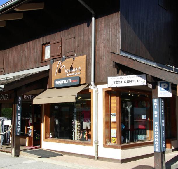 vitrine magasin Montagne