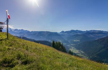 Le sommet du Mont Bisanne (ou Signal de Bisanne)
