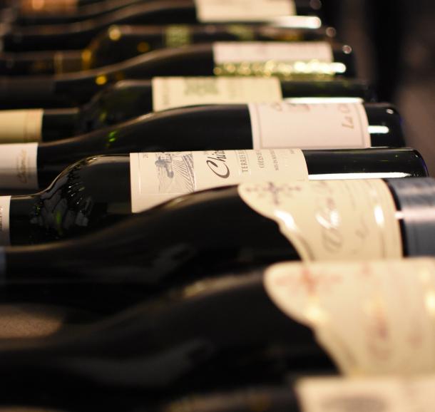 Cave à vins et spiritueux