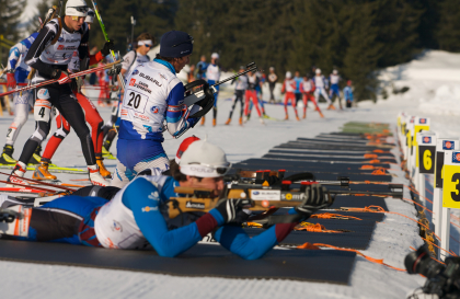Biathlon Samse National Tour aux Saisies