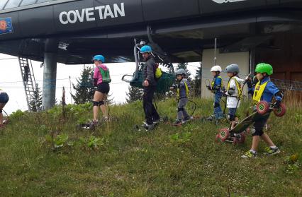 Initiation au mountainboard