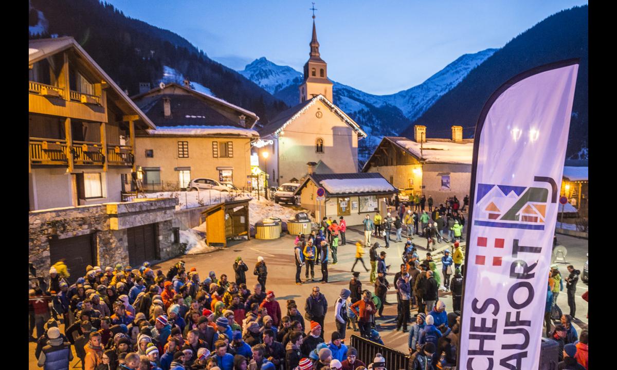 Pierra Menta - ski alpinisme Arêches-Beaufort - village