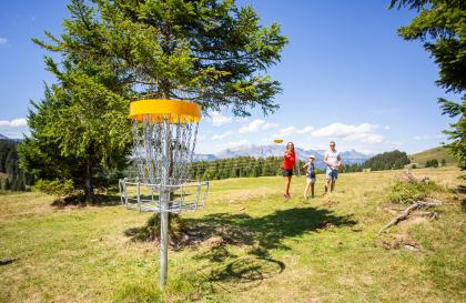 Disc golf des Saisies
