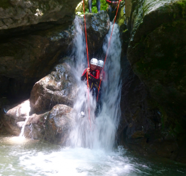 Canyoning_Montmin