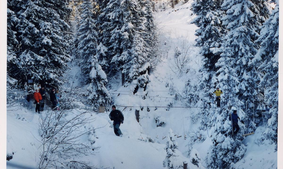 Escaladventure - Parcours aventure unique en Rhônes-Alpes