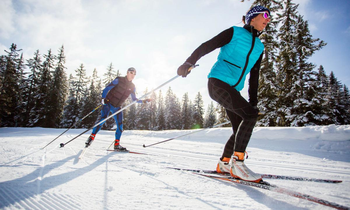 ski de fond les Saisies