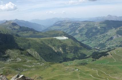 Barrage de la Girotte, vallée d'Hauteluce
