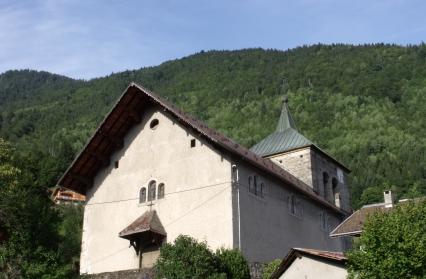 Queige, église baroque