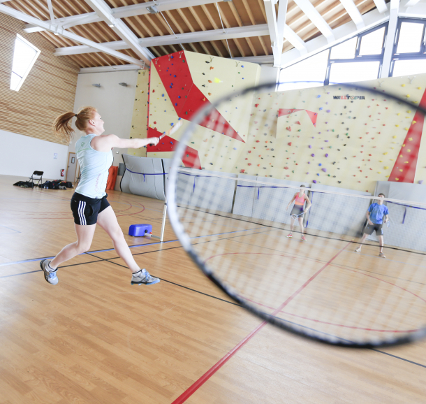 Badminton au Signal