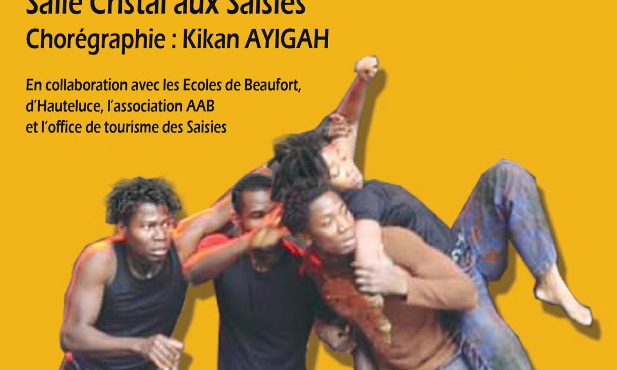 spectacle afro danse aux saisies