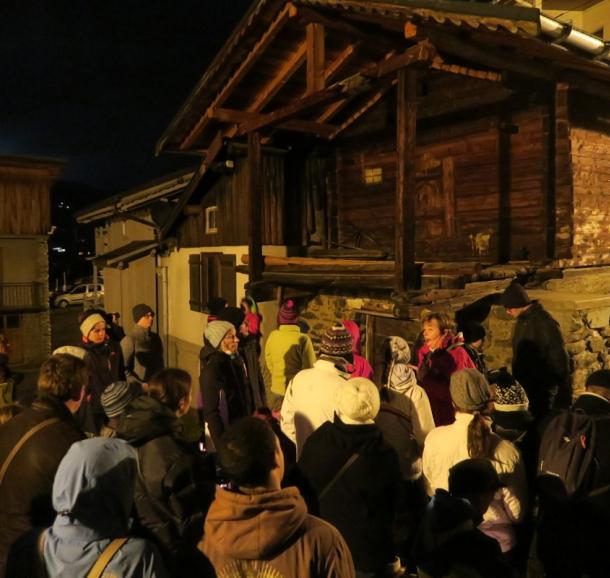 Visite nocturne d'Arêches