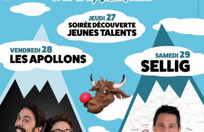 Festival Sommets du Rire Arêches-Beaufort