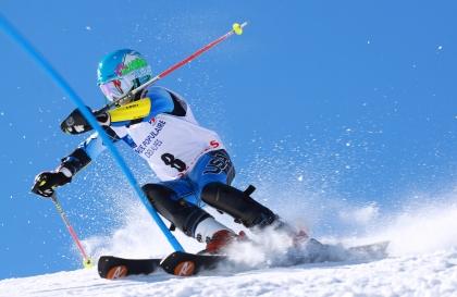 Le Chamois, slalom spécial ESF