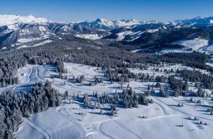 A 1650 m d'altitude, un enneigement au top