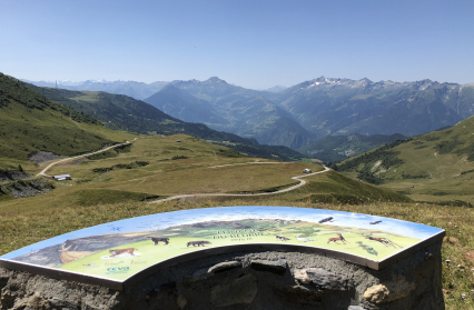 Vue panoramique depuis le Nant du Beurre