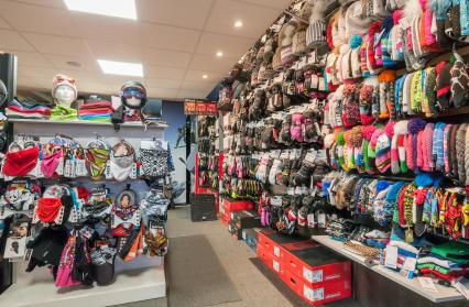 Bonnets, gants, masques de ski, casques...