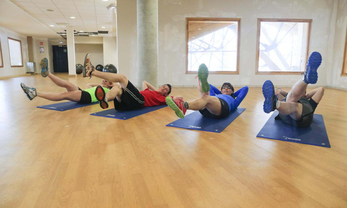 Séance de pilates