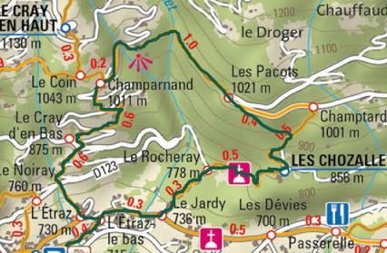 Plan - Les Chozallets