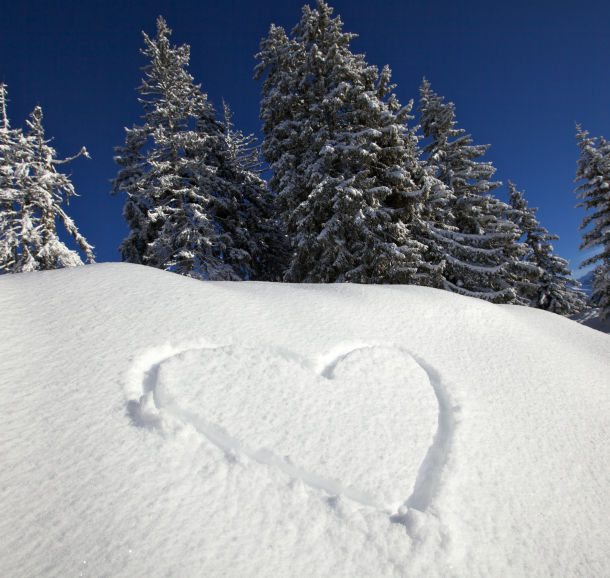 un coeur aux Saisies