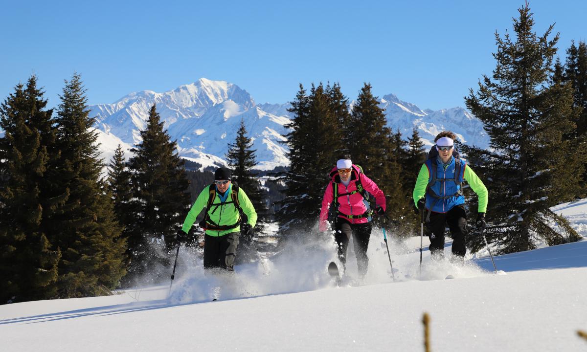 challenge ski de randonnée les Saisies