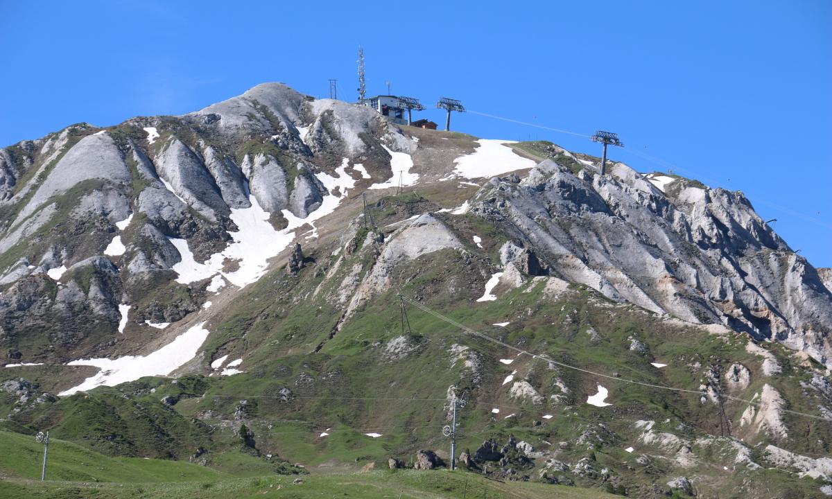 Géo Tech - Les gypses de la Plagne et la Grande Rochette, Col de la Lovatière