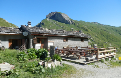refuge de Plan Mya