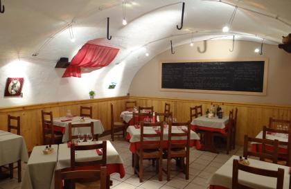 Salle voûtée de la Table du Berger