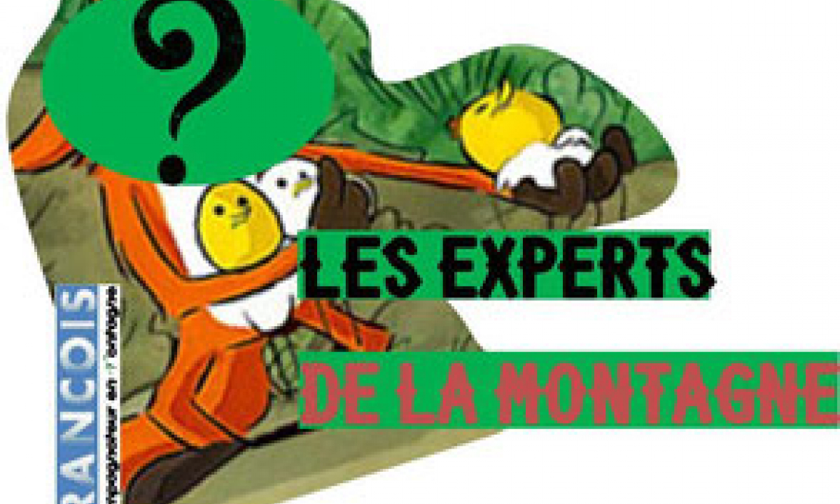 les experts de la montagne