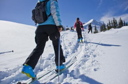 Séjour découverte ski de randonnée : on découvre la technique pour se deplacer