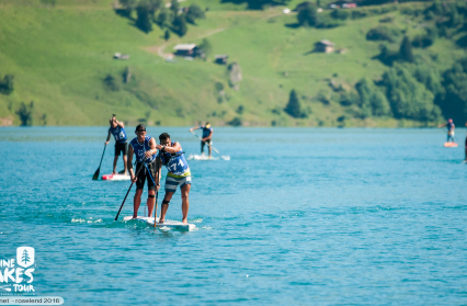 Stand-Up Paddle : wild race Roselend
