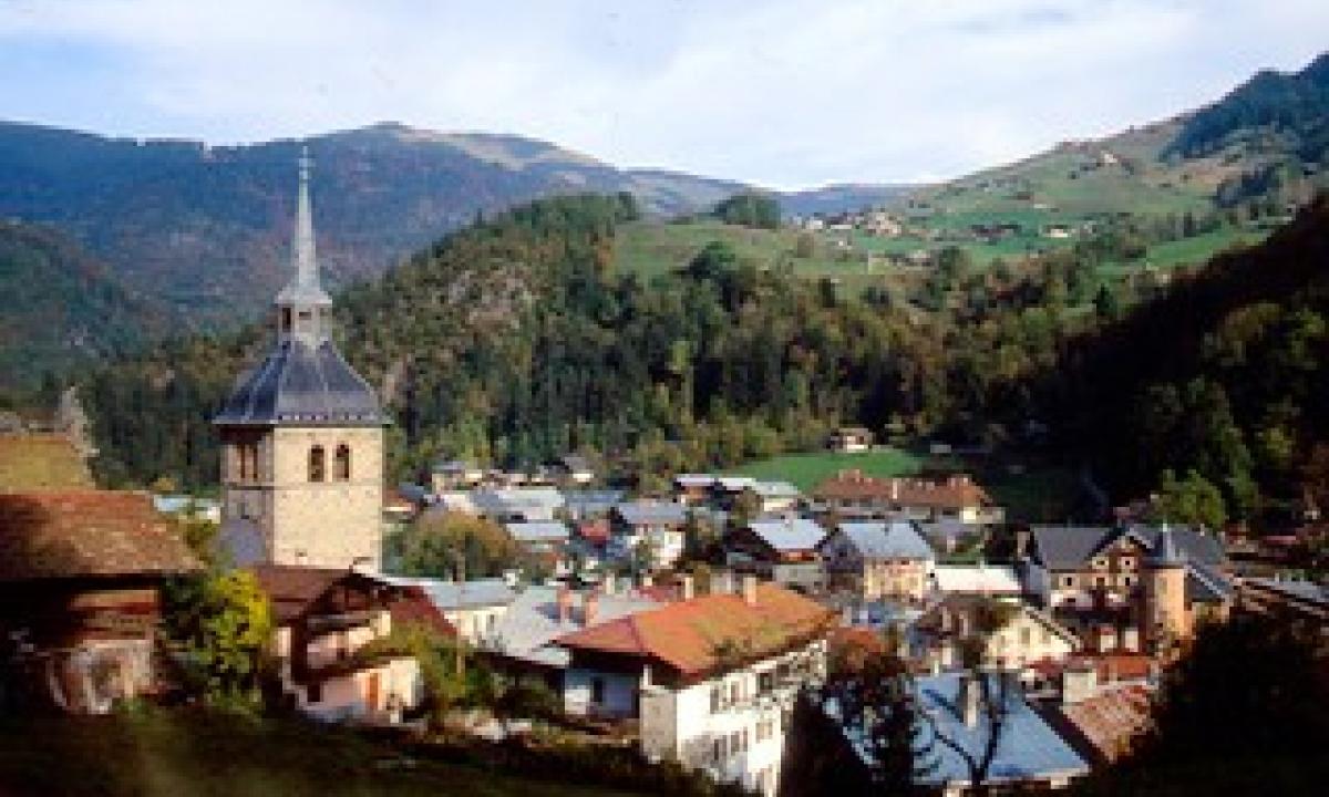 Le village de Beaufort