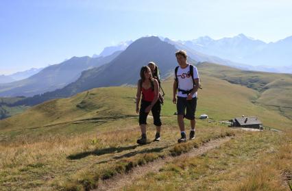 Au-dessus du Col de Véry