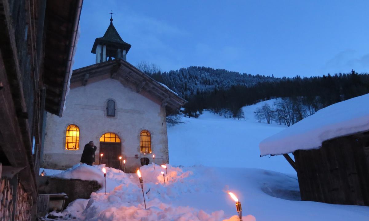 Hauteluce : magie des fêtes à la montagne !