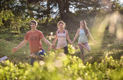 yoga les Saisies