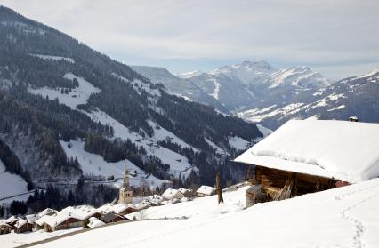 Le Village de Hauteluce en HIver